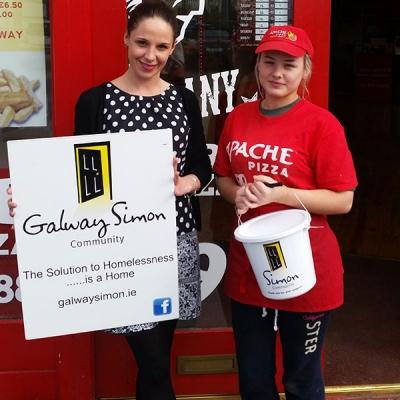 Apache-pizza-galway-simon-community-fundraiser