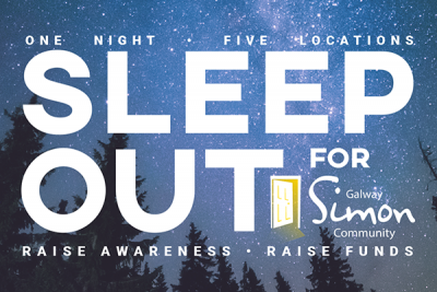 simon community charity event