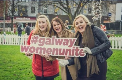 Galway Women Unite: Nicola McGuire, Ailbhe Hession and Kayla McDonagh