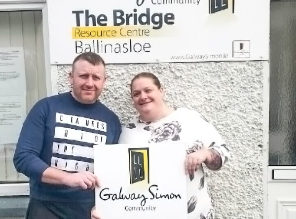 Ballinasloe Sleep Out in aid of Galway Simon