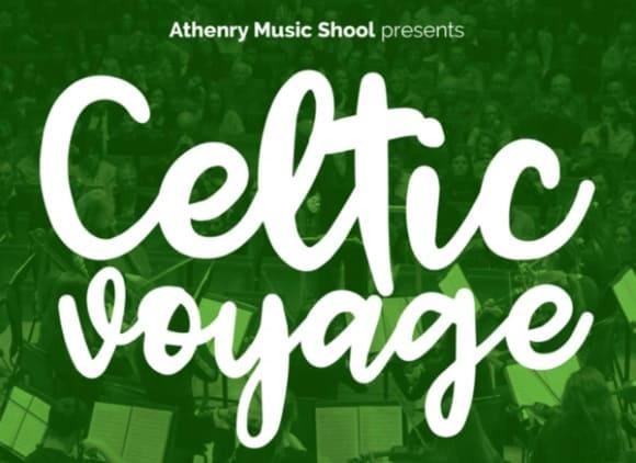 Image of Celtic Voyage Concert Poster