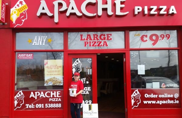 Apache Pizza Fundraiser in aid of Galway Simon