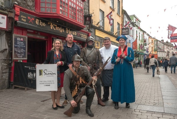 Galway's first Medieval Walk, Talk & Banquet in aid of Galway Simon