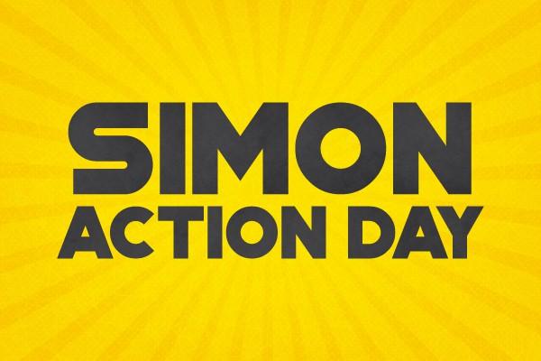 Simon Action Day Banner