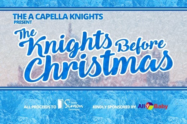 The Knights Before Christmas website banner