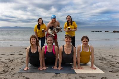 Galway Simon Communitys Dip at Dawn Launch Photo