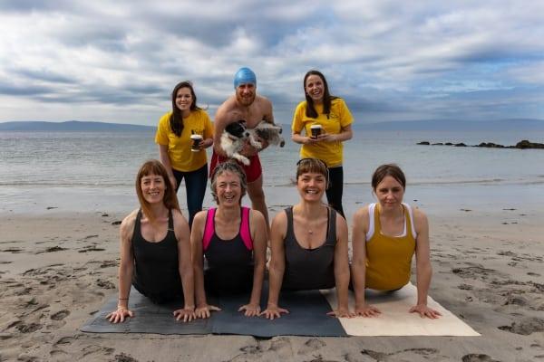 Galway Simon Communitys Dip at Dawn Launch