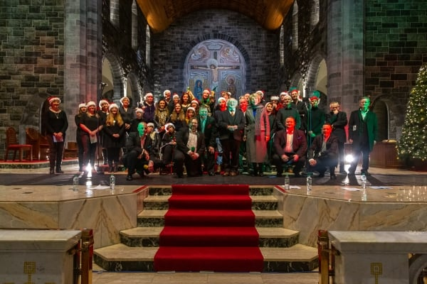 Galway Simon Music Project with Michael D Higgins and wife Sabina